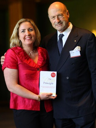 Co-Authors Peter Fritz and Jeanne-Vida Douglas with The Profit Principle