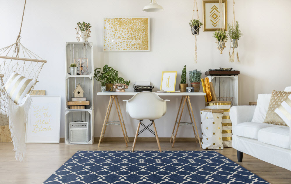6 Easy Tips for a Productive and Cozy Home Office